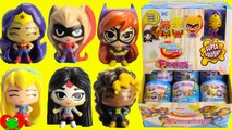 DC Super Hero Girls Fashems Wonder Woman, Super Girl, Katana