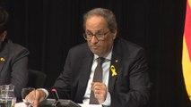 Torra celebra el consenso entre sindicatos y patronal en Cataluña