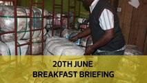 Stealing from county coffers | IEBC consultant bolts: Your Breakfast Briefing