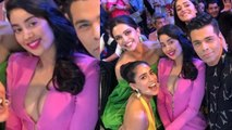 Deepika Padukone enjoys with Jhanvi Kapoor & Ananya Pandey at Grazia Millennial Awards   FilmiBeat