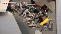 Detenidos por robar domicilios con llaves falsas