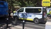 Herido grave un hombre de 82 años tras ser atropellado por un autobús en Madrid