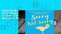 About For Books  Sorry Not Sorry: The perfect laugh out loud romantic comedy  Best Sellers Rank : #4