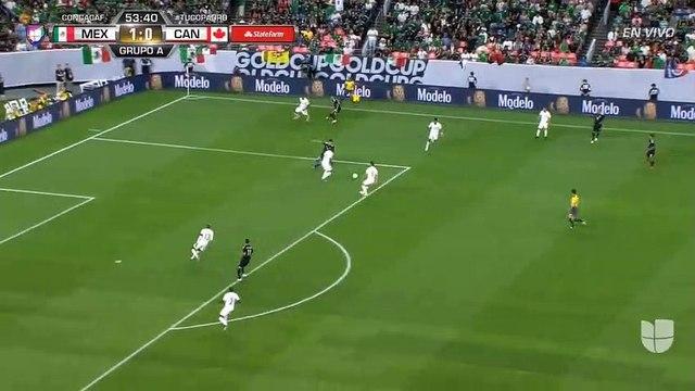 Mexico [2] - 0 Canada - Guardado awesome goal