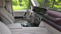 Die neue Mercedes-Benz G-Klasse - Das Interieur