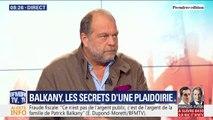 """Éric Dupond-Moretti sur le procès Balkany : """"Dans ce genre d'affaire, on entend d'avantage les rumeurs que la voix de son avocat."""""""