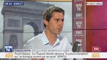 """François Ruffin (LFI): """"La question centrale est celle de la démocratie,(...) on nous propose de commencer par Aéroports de Paris"""""""