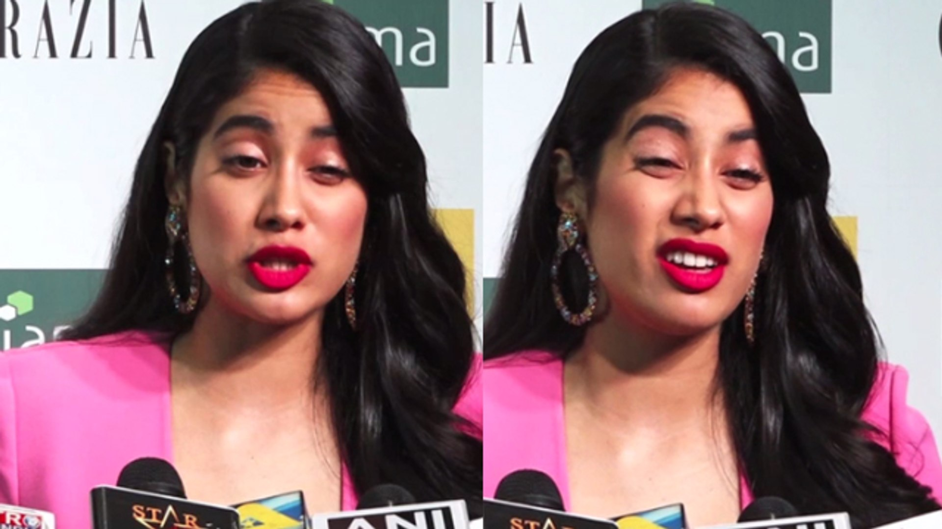 Janhvi Kapoor's Cute Reaction On Her Film RoohiAfza