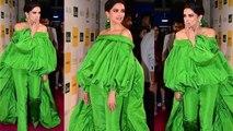 Deepika Padukone gets trolled for her green dress at Grazia Millennial Awards   FilmiBeat