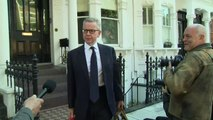 Michael Gove 'confident' he'll make it through to final two