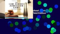 [MOST WISHED]  The Law School Admission Game: Play Like An Expert, Third Edition