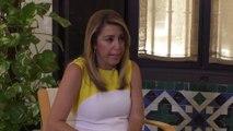 Díaz dice que elecciones serán según los intereses de Andalucía