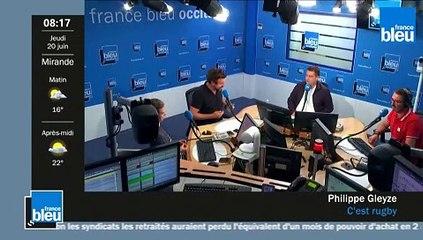 C'est rugby sur France Bleu Occitanie - Philippe Gleyze rend hommage à Régis Sonnes