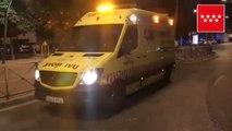 Dos mujeres resultan heridas al incendiarse anoche una galería comercial en San Sebastián de los Reyes