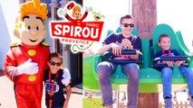 VLOG - On découvre le PARC SPIROU ! - Le parc d'attractions des bandes dessinées