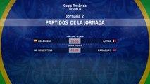 Previa de la Jornada 2 Copa América Grupo B