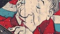 La fresque monumentale d'Ella et Pitr décore les toits parisiens