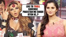 R@khi Sawant SHOCKING Reaction on Sania Mirza Trolling
