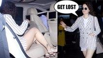 Kangana Ranaut nails BOSSY ATTITUDE on INNOCENT fans at airport