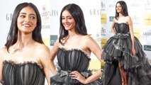 STUNNING Ananya Pandey At Red Carpet Of Grazia Millennial Awards 2019