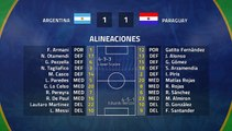 Resumen partido entre Argentina y Paraguay Jornada 2 Copa América