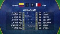 Resumen partido entre Colombia y Qatar Jornada 2 Copa América