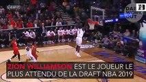 Les mensurations folles de Zion Williamson, le futur numéro 1 de la draft NBA AJB