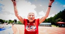 Âgée de 103 ans, elle remporte une nouvelle médaille d'or au 100 mètres !