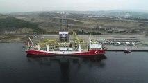 Yavuz Sondaj Gemisi Uğurlanıyor -Drone - (2)