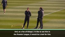 Premier League would be a test for Allegri - Douglas Costa