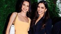Kendall Jenner Meets Deepika Padukone At Charity Dinner For Mental Health Awareness