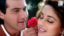 Madhuri Dixit and Sanjay Kapoors  Rehearsal Video Of Their Song Nazrein Mili Dil Dhadka