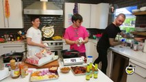 Joji and Rich Brian Get an Omelette Master Class from a French Chef