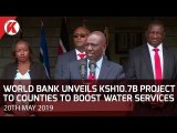 Deputy President William Ruto signs World Bank projects for coast counties