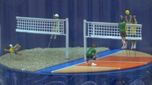 Tokyo previews 2020 Olympic Games with miniature figures