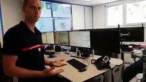 Les pompiers inaugurent le réaménagement de leur Centre d'alerte à Besançon
