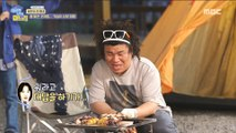 [HOT] Roast grilled skewers at camping, 이상한 나라의 며느리 20190620