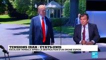 Le Pentagone confirme qu'un drone américain a été abattu par l'Iran