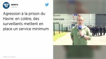Un djihadiste frappe deux surveillants de la prison du Havre