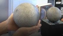 La luna en la palma de la mano…. impresa en 3D!