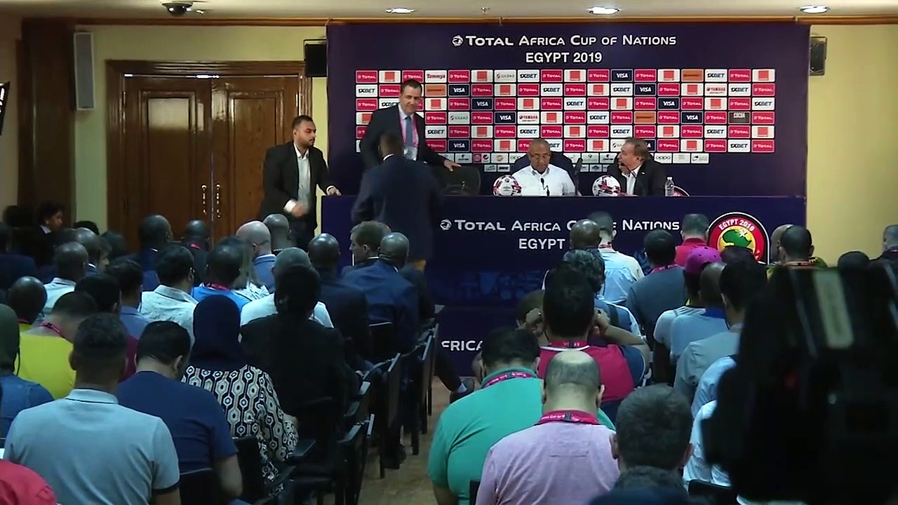 CAF president Ahmad speaks in Cairo as Samoura named to undertake CAF audit