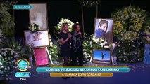 Lorena Velázquez recuerda a su gran compañera y amiga Edith González. | Venga La Alegría