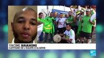 CAN-2019 : Yacine Brahimi, capitaine de l'équipe d'Algérie, sur France 24