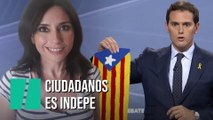 """""""Ciudadanos es indepe"""", por Marta Flich"""