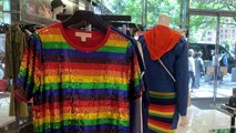 Retailers capitalize on Pride Month with rainbow merchandise