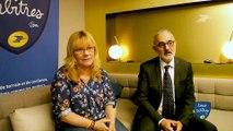 Rencontre avec Sylvie Borotti et Francois Garcia, responsables de l'arbitrage à la FFHB