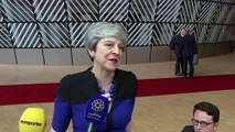 Theresa May on attending her final EU summit
