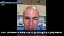 """Zinedine Zidane """"très excité"""" par la nouvelle  saison du Real Madrid"""