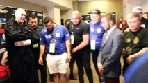 THE MOMENT THAT GIVES TYSON FURY INSPIRATION BEFORE A FIGHT - TEAM FURY PRE-FIGHT PRAYER IN VEGAS