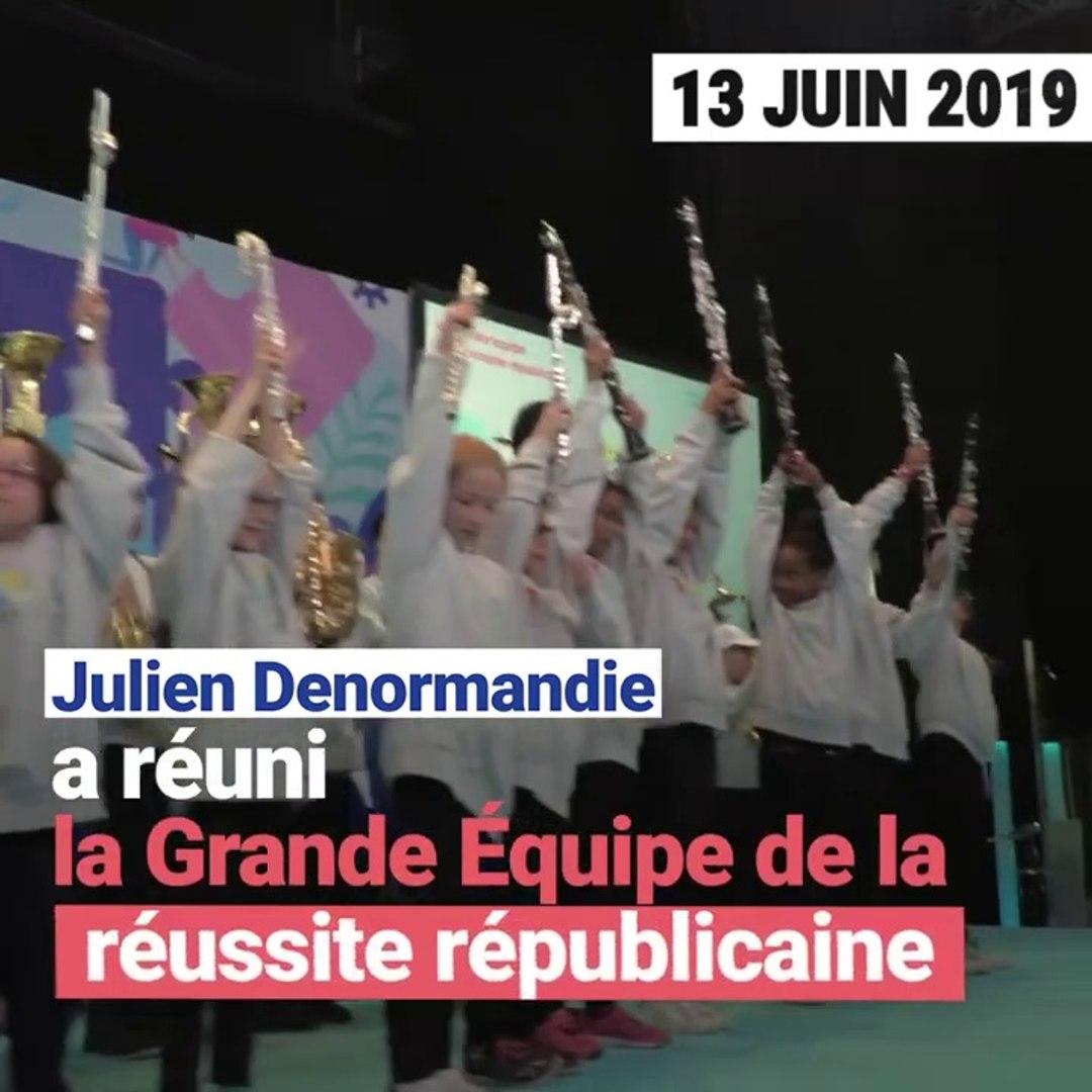 13 juin 2019 ,Julien Denormandie réunit la Grande Équipe de la réussite républicaine.